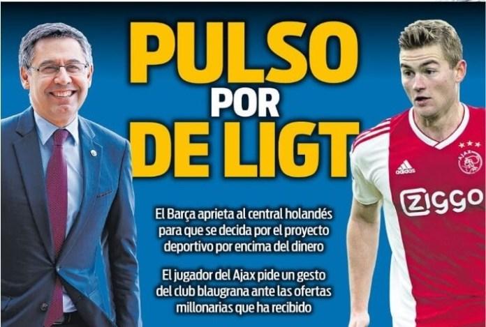 Portadas Deportivas 22/05/2019