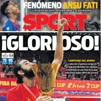 Las Portadas Deportivas 16/09/2019 | Marca, As, Sport, Mundo Deportivo