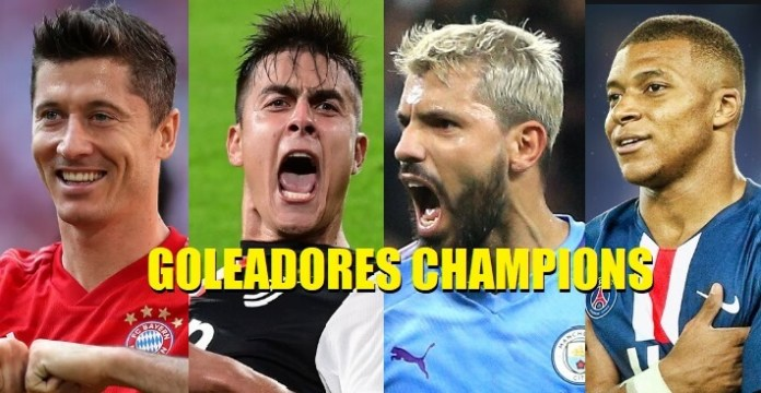 Goleadores Champions 2020