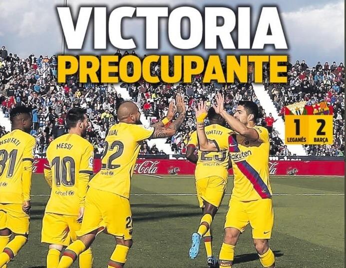 Portadas Diarios Deportivos 24/11/2019