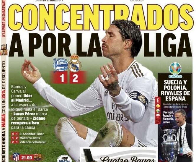 Portadas Diarios Deportivos 1/12/2019