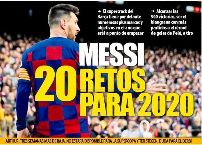 Portadas Diarios Deportivos Martes 31