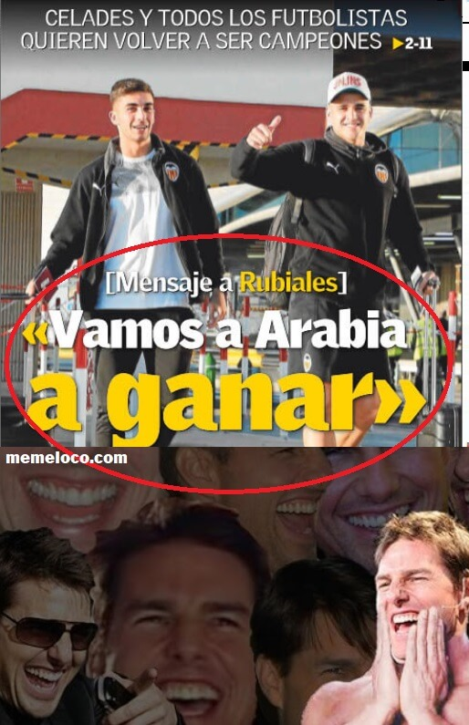 Memes Valencia-Real Madrid Supercopa 2020