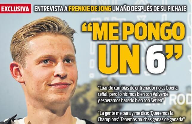 Portadas Diarios Deportivos Jueves 24