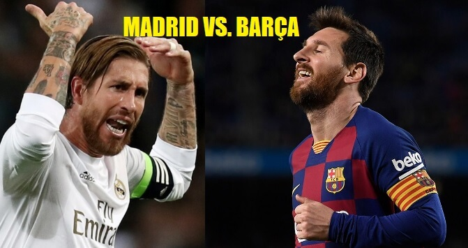 Barça y Madrid
