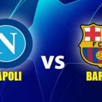Alineación Napoli-Barcelona Octavos Champions 2020