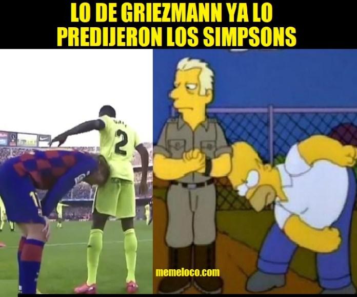 Lo de Griezmann ya lo Predijeron los Simpsons