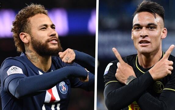 Neymar y Lautaro Martínez fichaje barcelona