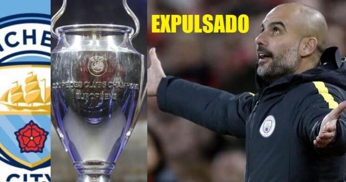 El Manchester City Expulsado de la Champions por Dos Años