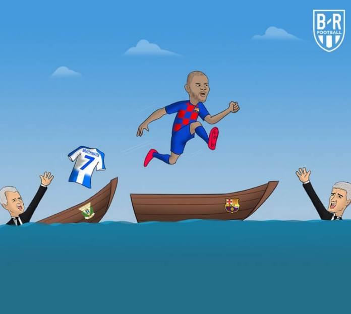 Los mejores Memes del Fichaje de Braithwaite por el Barça