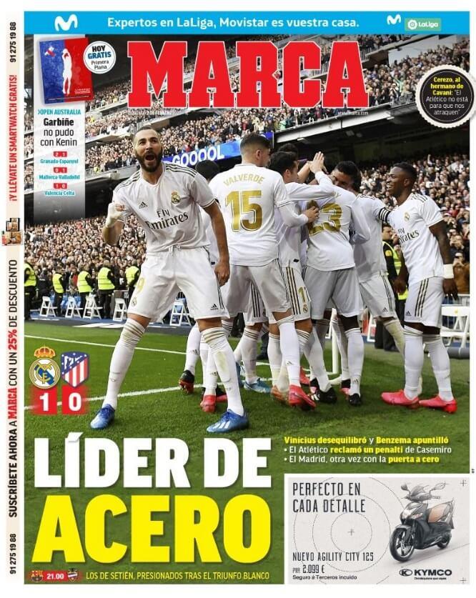Portadas Diarios Deportivos Domingo 2/02/2020