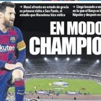 Portadas Diarios Deportivos Lunes 24/02/2020 | Marca, As, Sport, Mundo Deportivo