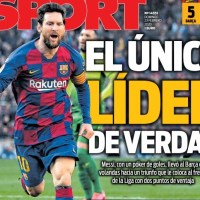 Portadas Diarios Deportivos Domingo 23/02/2020 | Marca, As, Sport, Mundo Deportivo