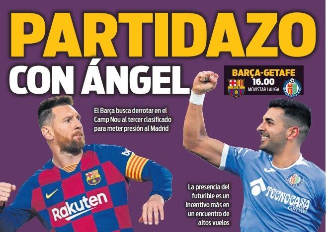 Portadas Diarios Deportivos Sábado 15