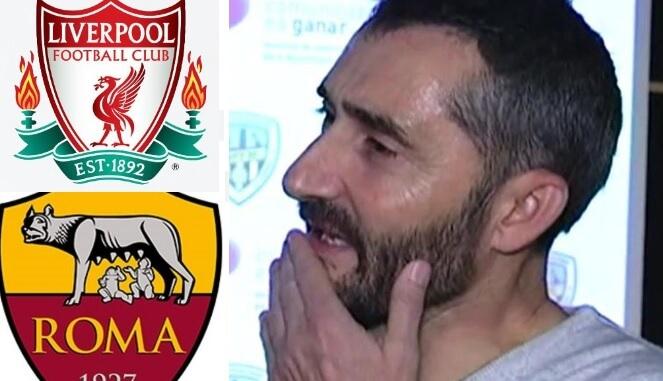 Valverde explica las derrotas ante la Roma y el Liverpool