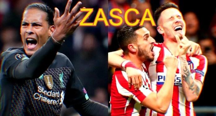 Van Dijk le da un 'ZASCA' al Atlético y al Fútbol Español