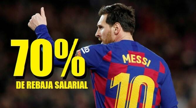 jugadores se bajan el sueldo un 70%