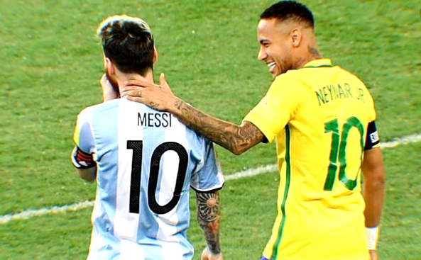 con Messi nos rotábamos para darle patadas