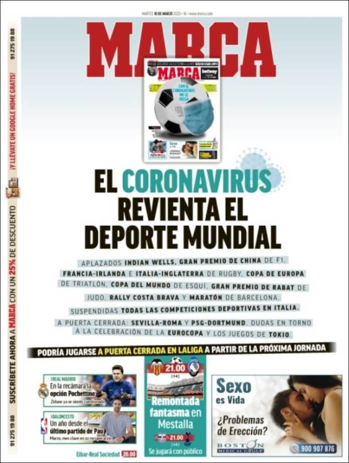 Portadas coronavirus