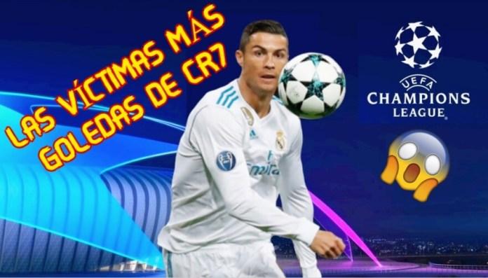 Los Rivales Más Goleados por Cristiano Ronaldo en Champions
