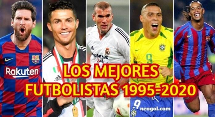Los Mejores Futbolistas de los últimos 25 Años