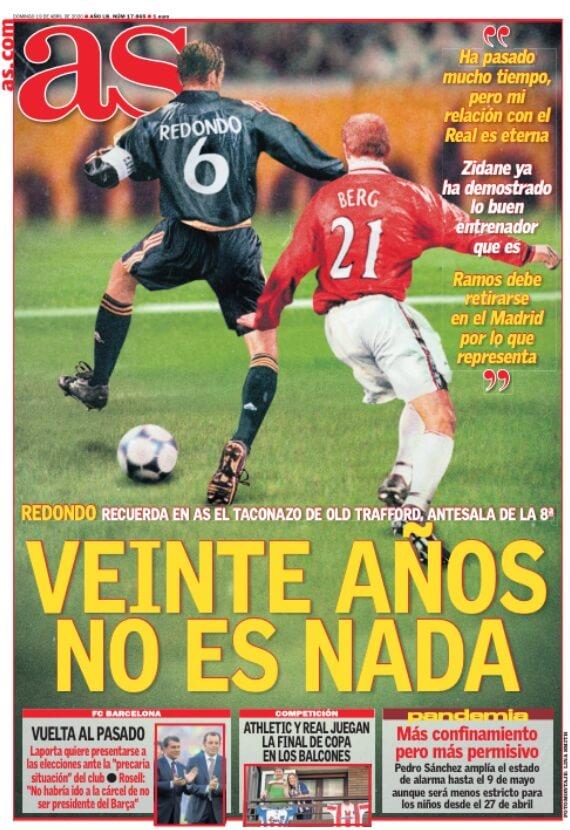Portadas Diarios Deportivos Domingo 19/04/2020