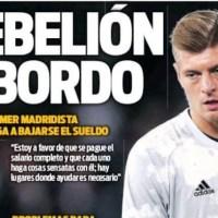 Portadas Diarios Deportivos Miércoles 8/04/2020 | Marca, As, Sport, Mundo Deportivo