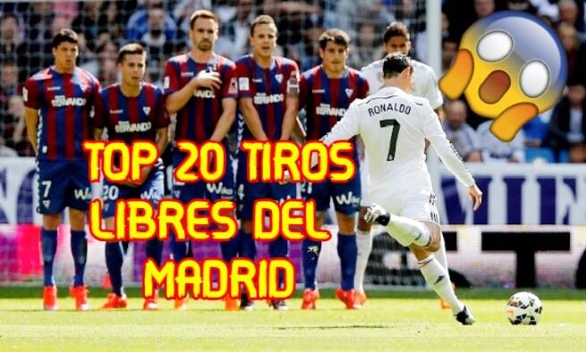 Tiros Libres Legendarios del Real Madrid