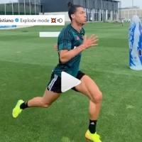 Cristiano Ronaldo entrena en Modo Explosivo 💥