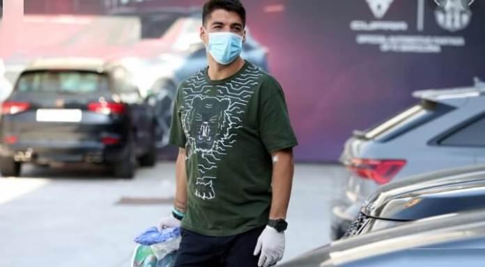 FC Barcelona test coronavirus luis suárez