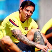 Leo Messi estrena nuevo Look. Adiós Barba