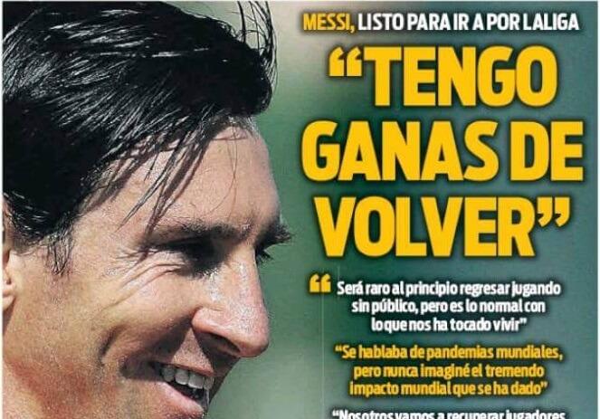 Portadas Diarios Deportivos Jueves 28/05/2020
