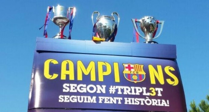 triplete barcelona 2015