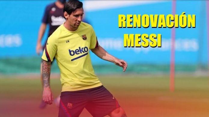 El Barça ya piensa en la Renovación de Messi