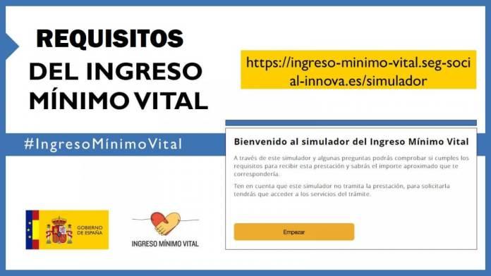Ingreso Mínimo Vital: Requisitos, Documentación y Simulador