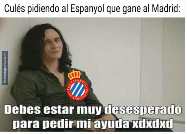 Memes Espanyol-Real Madrid 2020
