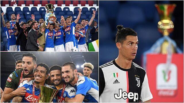 Napoles campeon Copa Italia 2020