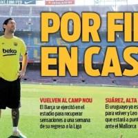 Portadas Diarios Deportivos Domingo 7/06/2020 | Marca, As, Sport, Mundo Deportivo