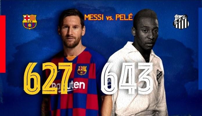 Los Retos de Messi: Superar a Pelé y Zarra
