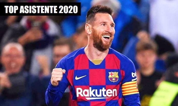 Leo Messi Máximo Asistente Liga Santander 2020
