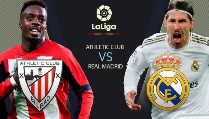 ¿Dónde Televisan el Real Madrid Hoy? Athletic-Real Madrid