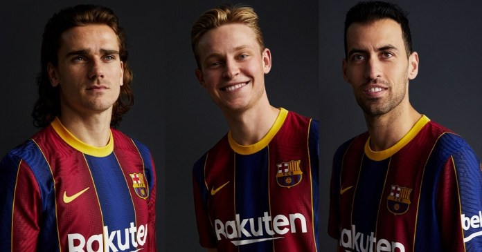 Camiseta Barcelona 2020-2021 griezmann