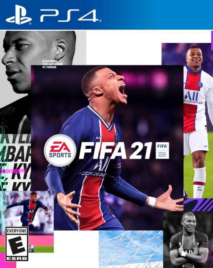 Portada FIFA21 Estandar Edition