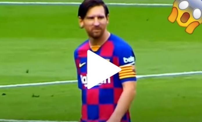 Messi enfadado ¿Se Va del Barça?