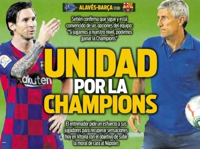 Portadas Diarios Deportivos Sábado 19/07/2020