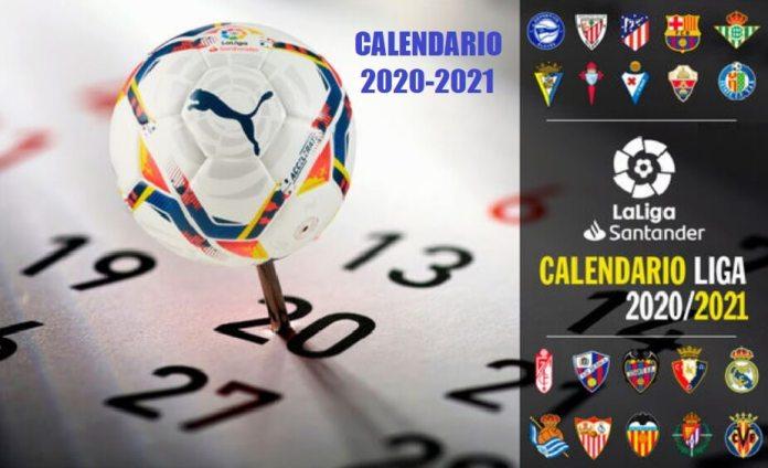 Calendario Liga Española 2020-2021