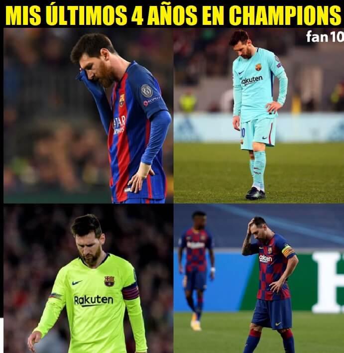 Memes Barcelona-Bayern Munich Cuartos Champions 2020