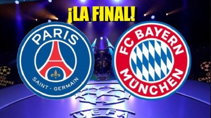 Alineación PSG-Bayern Munich | Horarios y TV | Final Champions 2020