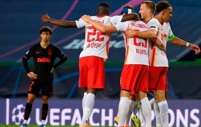 El Leipzig elimina al Atlético y adiós al sueño de Champions