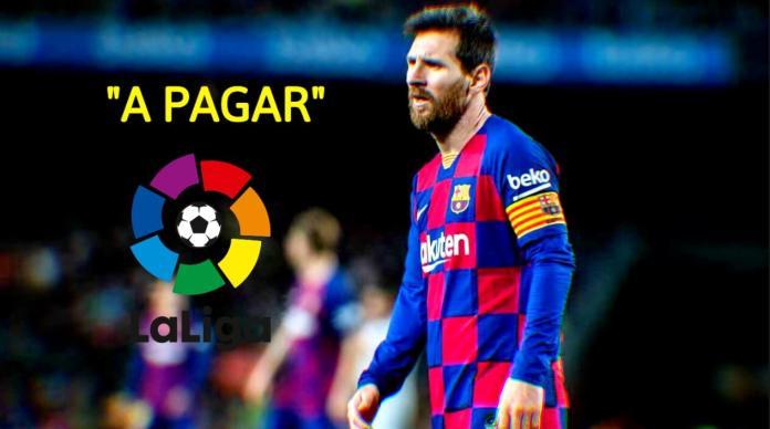 ¡A Pagar! La Liga le da la razón al Barça y Messi deberá pagar 700 Millones